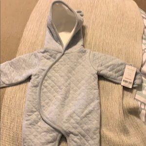 Newborn bunting/snow suit